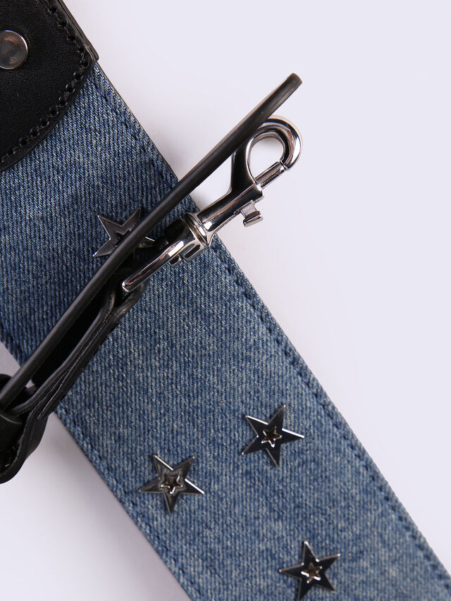 RIGHT ON STRAP, Jeansblau