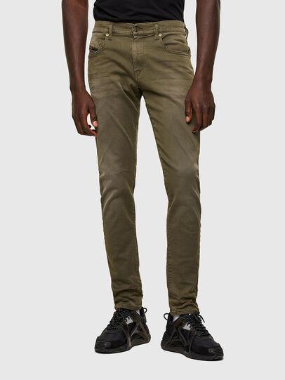 Diesel - D-Strukt JoggJeans® 0670M, Verde Militare - Jeans - Image 1