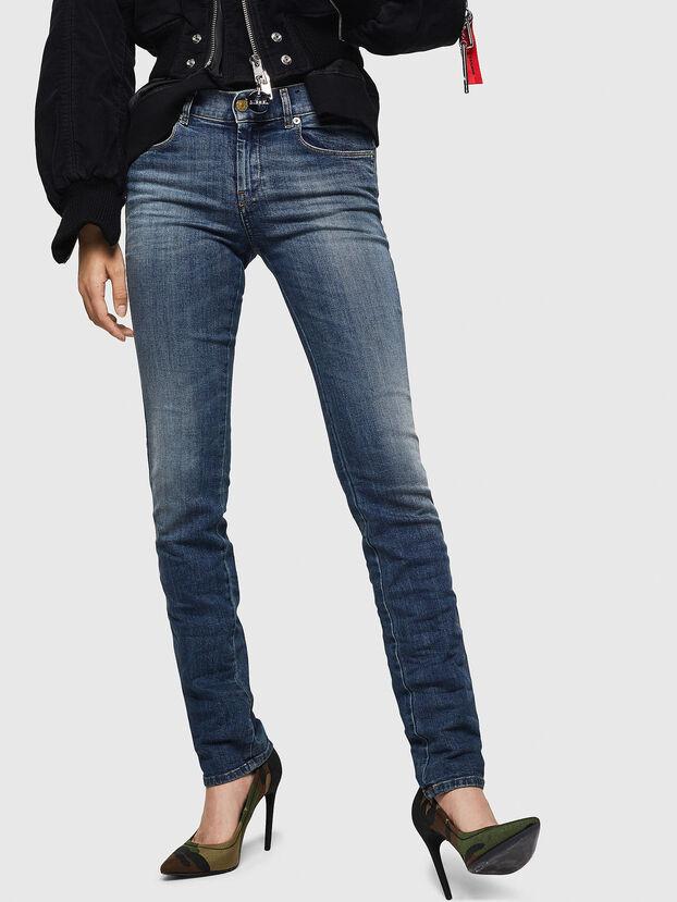 Sandy 069GA, Mittelblau - Jeans
