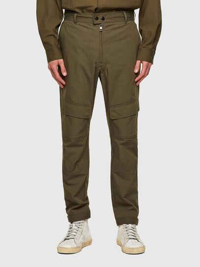 Diesel - P-SIDE, Vert Militaire - Pantalons - Image 1