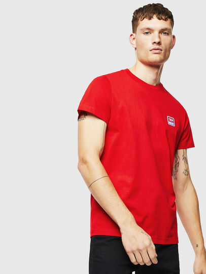 Diesel - T-DIEGO-DIV, Rot - T-Shirts - Image 1