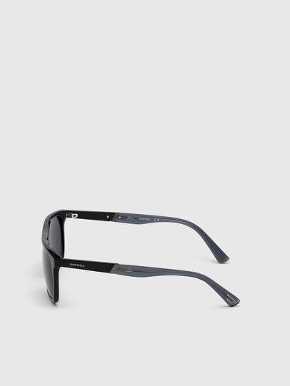 Diesel - DL0299, Schwarz/Grau - Sonnenbrille - Image 3