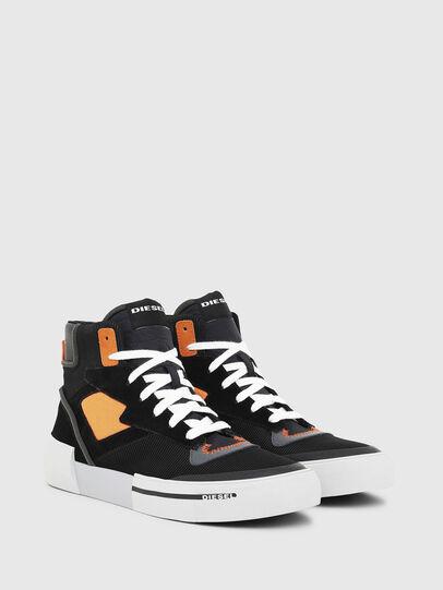 Diesel - S-DESE MS, Schwarz/Orange - Sneakers - Image 2