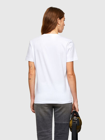 Diesel - T-DIEGOS-A11, White - T-Shirts - Image 2