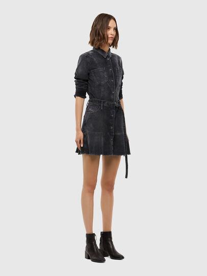 Diesel - D-SHAY-A, Black - Dresses - Image 6