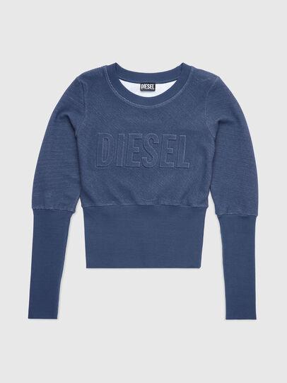 Diesel - UFLT-WILLAS-DW, Bleu - Pull Cotton - Image 1