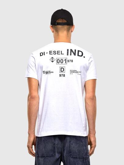 Diesel - T-DIEGOS-N21, Weiß - T-Shirts - Image 2
