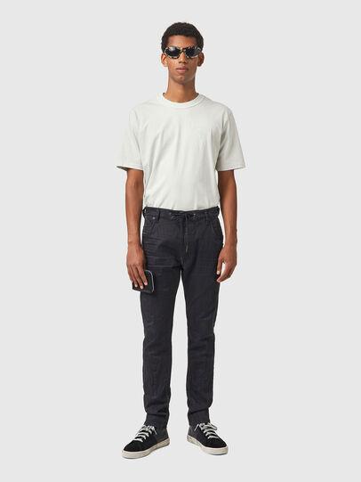 Diesel - Krooley JoggJeans® 069WB, Noir/Gris foncé - Jeans - Image 5
