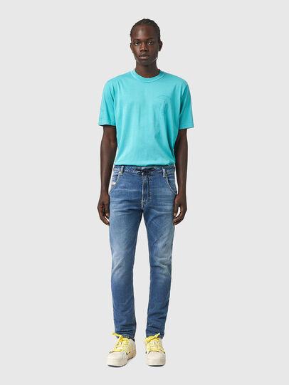 Diesel - Krooley JoggJeans® Z69VK, Bleu moyen - Jeans - Image 5