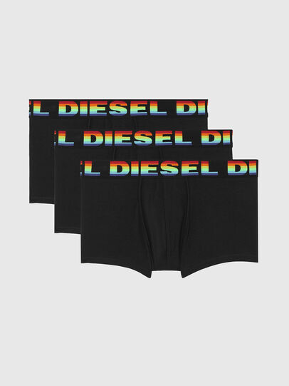 Diesel - UMBX-DAMIENTHREEPACK, Noir - Boxeurs courts - Image 1