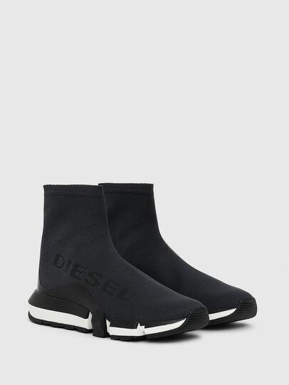 Diesel - H-PADOLA HIGH SOCK W, Schwarz - Sneakers - Image 2