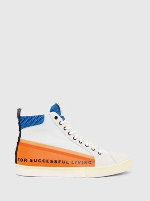 S-DVELOWS MID, Weiß/Orange - Sneakers