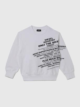 SGIRKS1 OVER, Blanc - Pull Cotton