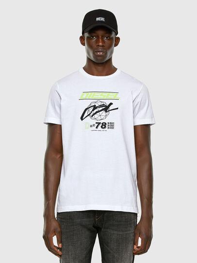 Diesel - T-DIEGOS-K34, Weiß - T-Shirts - Image 4