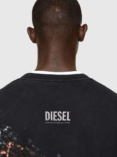 Diesel - S-MART-A92, Nero - Felpe - Image 4