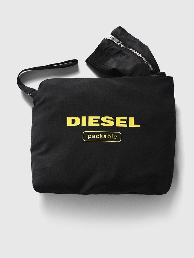 Diesel - J-FOLLYER, Schwarz - Jacken - Image 3