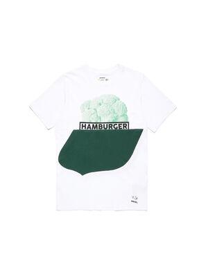 D-SHIELD-GREEN, Weiß - T-Shirts