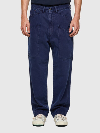 Diesel - D-Franky 0EEAX, Bleu moyen - Jeans - Image 1