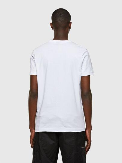 Diesel - T-DIEGOS-SMALLOGO, Blanc - T-Shirts - Image 2