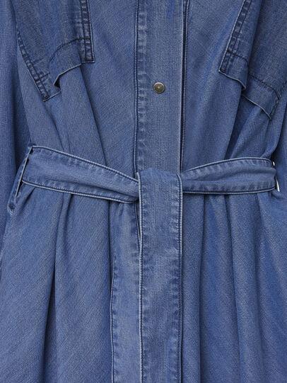 Diesel - DE-NIAVY, Light Blue - Dresses - Image 4