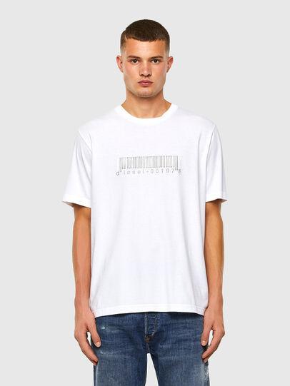 Diesel - T-JUST-SLITS-X85, Weiß - T-Shirts - Image 5