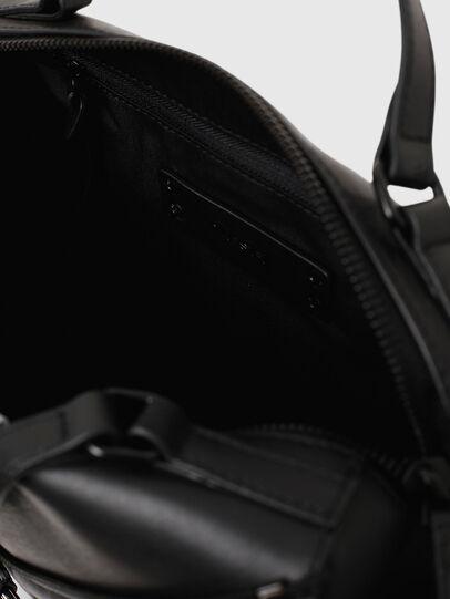 Diesel - LE-ZIPPER SATCHEL, Schwarz - Satchel Bags und Handtaschen - Image 4