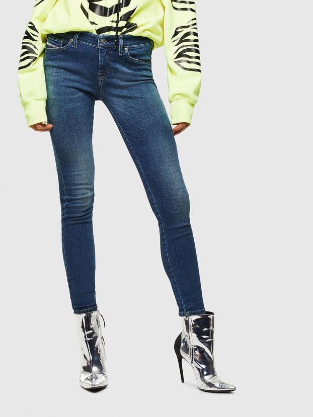 Slandy 069KW, Dunkelblau - Jeans
