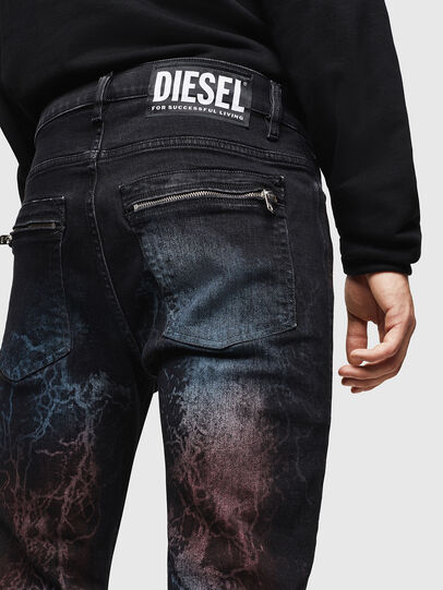 Diesel - D-Amny 0093D, Schwarz/Dunkelgrau - Jeans - Image 5