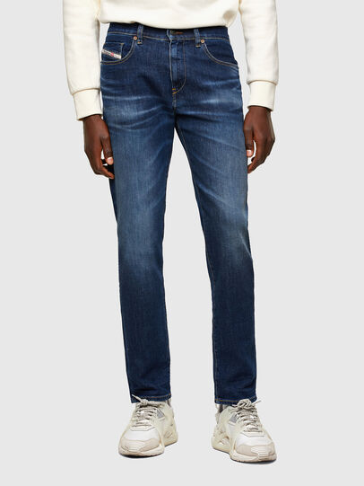 Diesel - D-Strukt 009MI, Blu Scuro - Jeans - Image 1