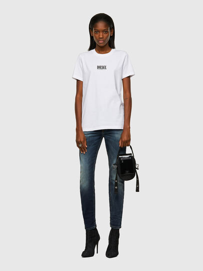 Diesel - T-SILY-ECOSMALLOGO, Weiß - T-Shirts - Image 4
