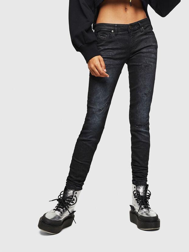 Gracey JoggJeans 069GP, Schwarz/Dunkelgrau - Jeans