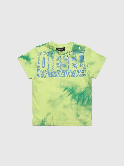 Diesel - TIMMYB, Vert - T-shirts et Hauts - Image 1