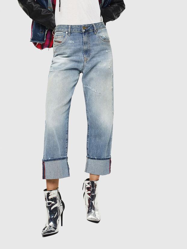 D-Reggy 0098V, Hellblau - Jeans