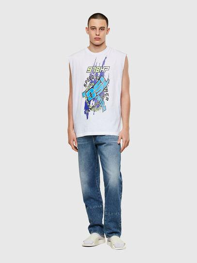 Diesel - T-OP, Bianco - T-Shirts - Image 4