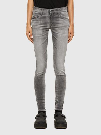 Diesel - Slandy Low 009FD, Hellgrau - Jeans - Image 1