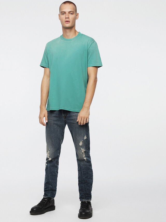 Diesel - T-JOEY-T, Wassergrün - T-Shirts - Image 4
