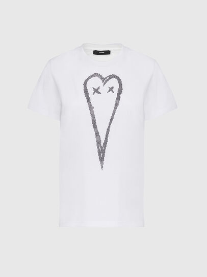 Diesel - T-SILY-E53, Weiß - T-Shirts - Image 1