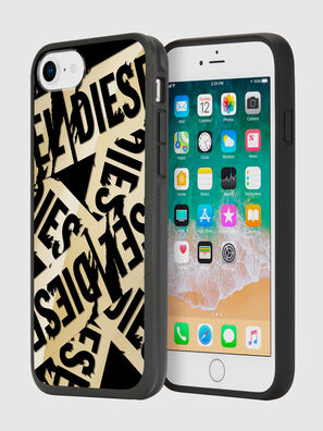 MULTI TAPE GOLD/BLACK IPHONE 8/7/6S/6 CASE,  - Schutzhüllen