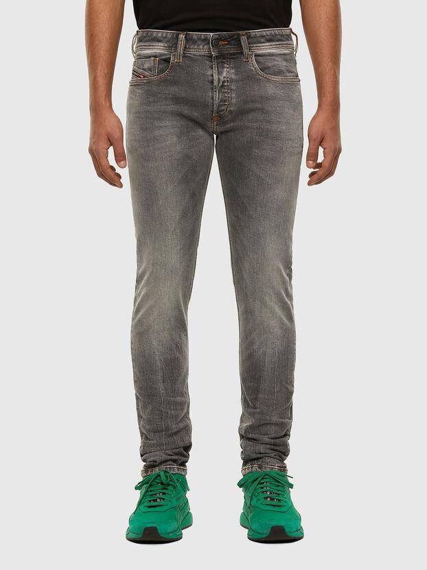 Sleenker 009FW, Hellgrau - Jeans
