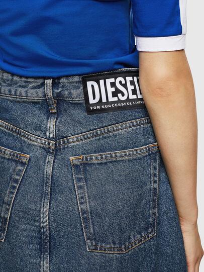 Diesel - DE-SHIRLEY, Mittelblau - Röcke - Image 6