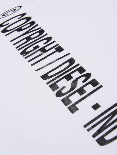 Diesel - TILCOPY, Weiß - T-Shirts und Tops - Image 3