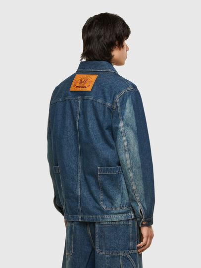 Diesel - D-ROLK-SP, Blue - Denim Jackets - Image 2