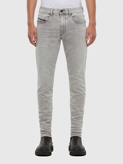 Diesel - D-Strukt 069RE, Gris Clair - Jeans - Image 1