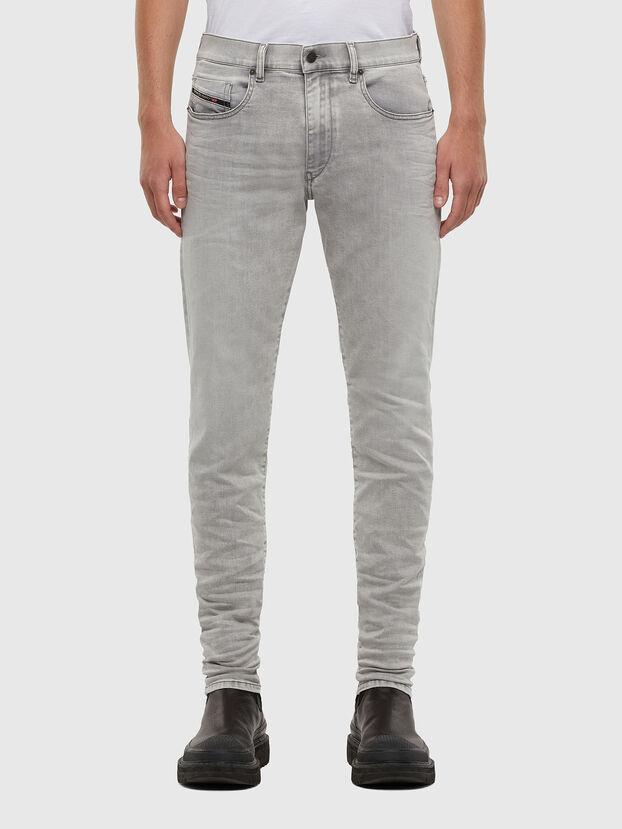 D-Strukt 069RE, Hellgrau - Jeans