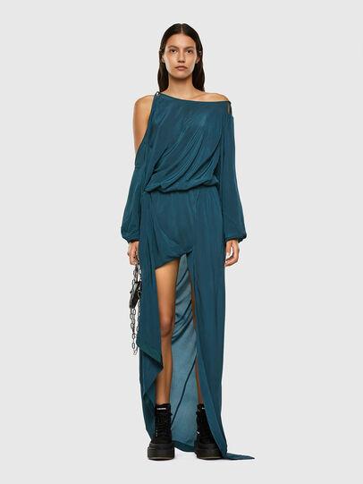 Diesel - D-MARA, Water Green - Dresses - Image 6