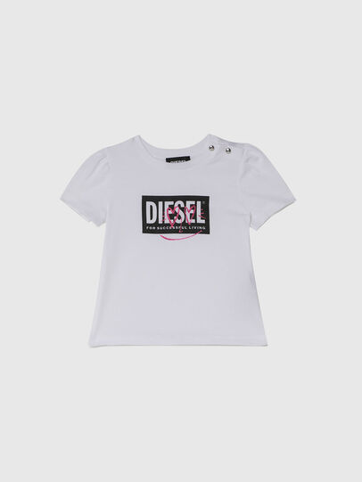 Diesel - TRIDGEB, Blanc - T-shirts et Hauts - Image 1
