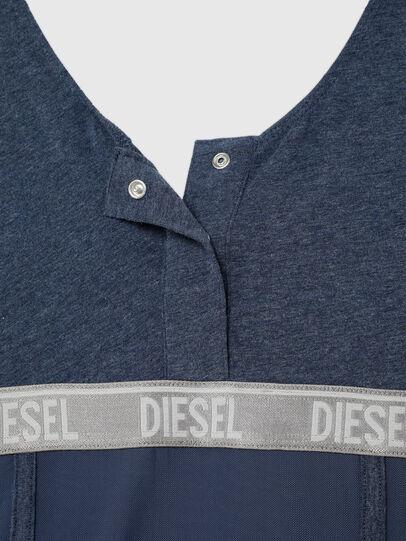 Diesel - UFTEE-TOPCUT-DN, Blue - T-Shirts - Image 4