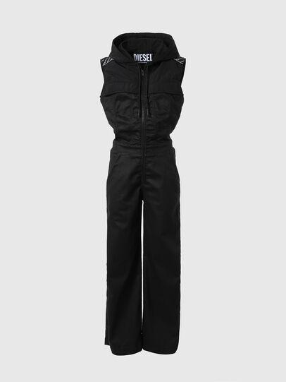 Diesel - D-JAYLEN JOGGJEANS, Black/Dark grey - Jumpsuits - Image 1