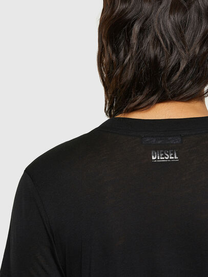 Diesel - T-SILY-V26, Schwarz - T-Shirts - Image 3