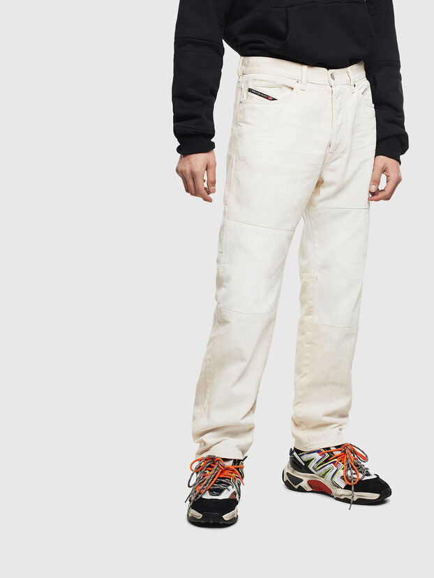 D-Macs 009BA, Weiß - Jeans